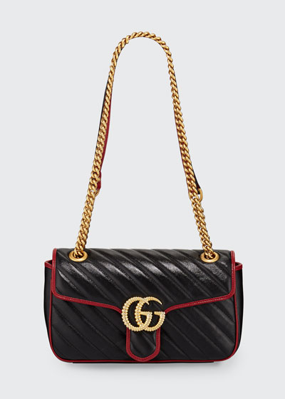 a74b4daf7 GG Marmont Small Shoulder Bag Quick Look. Gucci