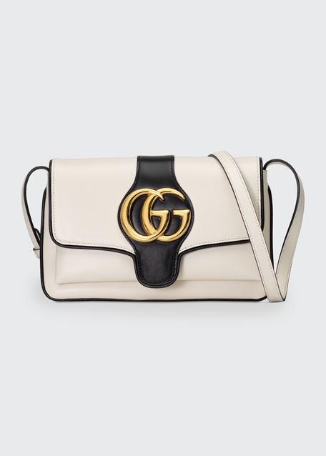 Arli Small Two-Tone Shoulder Bag