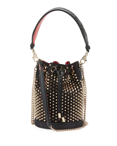 d448bbf4bf7 Marie Jane Studded Bucket Bag Quick Look. Christian Louboutin