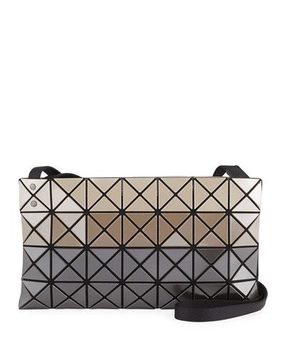 Prism Metallic Stripe Crossbody Bag