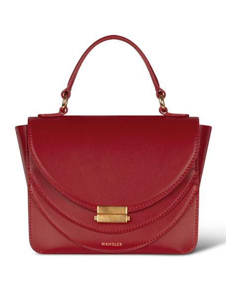 Luna Mini Calf Top Handle Bag