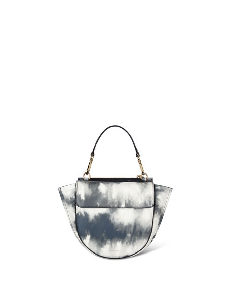 Hortensia Mini Calf Top Handle Bag