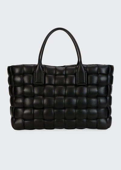 Intrecciato Quilted Large Tote Bag
