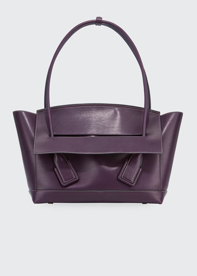 Palmellato Large Leather Top Handle Bag