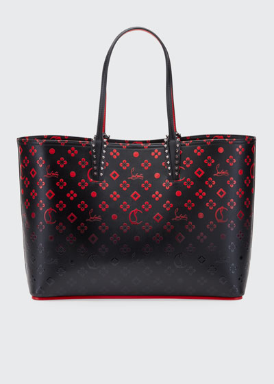 Cabata Loubinthesky Red Sole Tote Bag