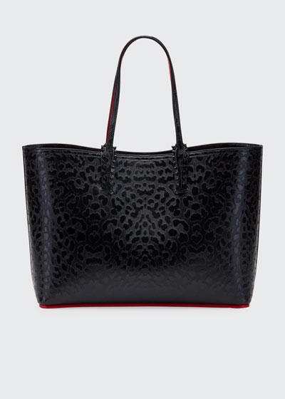 Cabata Leopard-Embossed Tote Bag