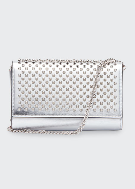 Image 1 of 1: Paloma Specchio Brosse Spikes Clutch Bag