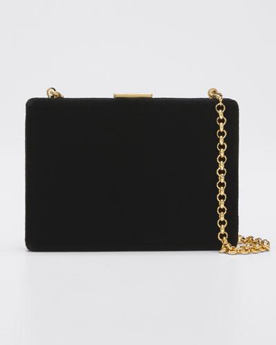 Velvet Card Case/Wallet  Black