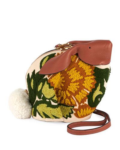 Bunny Floral Classic Crossbody Bag