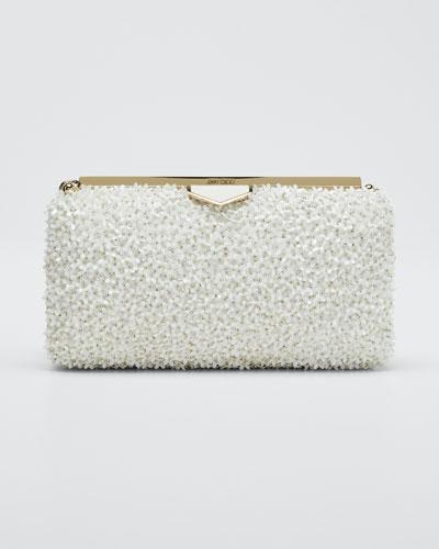 Ellipse Mini Floral Clutch Bag