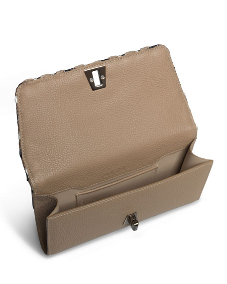 Anouk Small Raffia Belt Bag