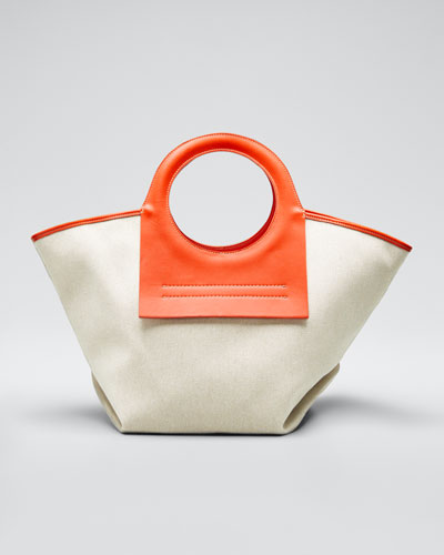 Canvas Small Cala Tote Bag
