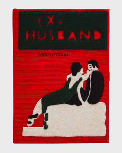 Mini Ex Husband Book Clutch Bag