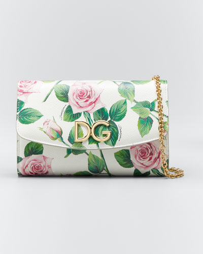 Mini Tropical Rose Crossbody Bag