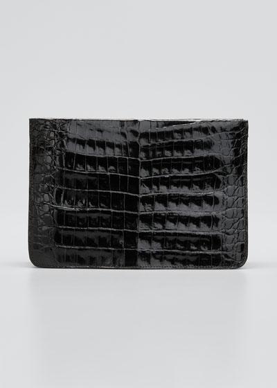 Small Soft Crocodile Crossbody Bag