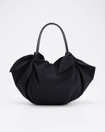 Silk Mini Inda Top Handle Bag