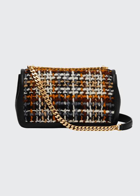 Woven Tweed Small Lola Crossbody Bag