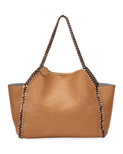 Falabella Shaggy Deer East-West Tote Bag