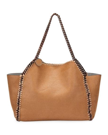Falabella Shaggy Deer East-West Tote Bag