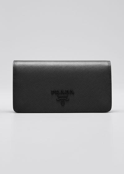 Monochrome Mini Bag w/ Removable Wristlet and Crossbody Straps