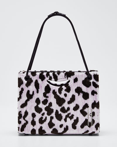 Mini 1712 Peony Leopard Clutch Bag