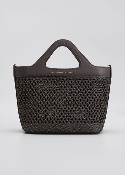 Mini Monili Laser-Cut Tote Bag