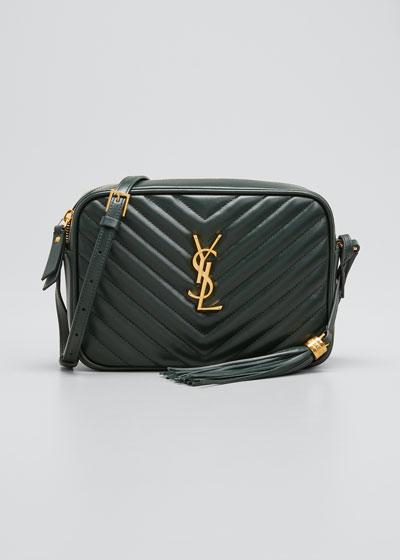 Lou Medium YSL Monogram Calf Leather Camera Bag
