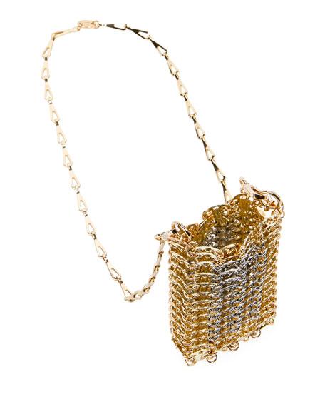 Mini X 69 Metallic Bicolor Crossbody Bag