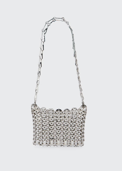 Nano 69 Metallic Disc Crossbody Bag