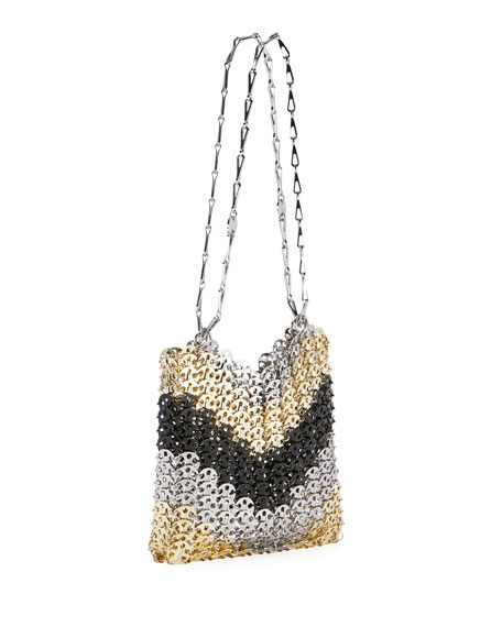 1969 Metallic Tricolor Crossbody Bag
