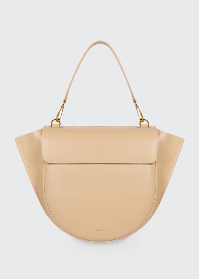 Hortensia Medium Calf Top-Handle Bag