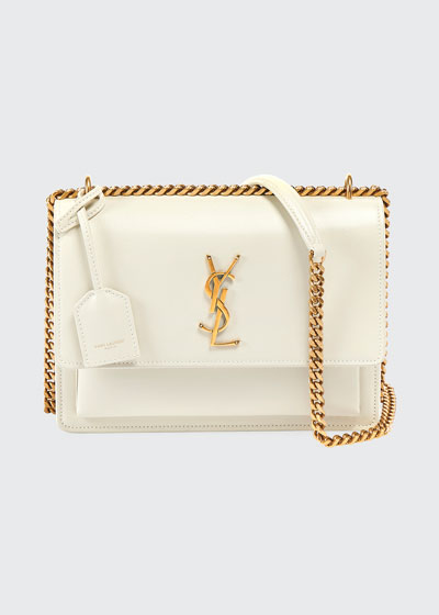 Sunset Medium Monogram YSL Chain Crossbody Bag