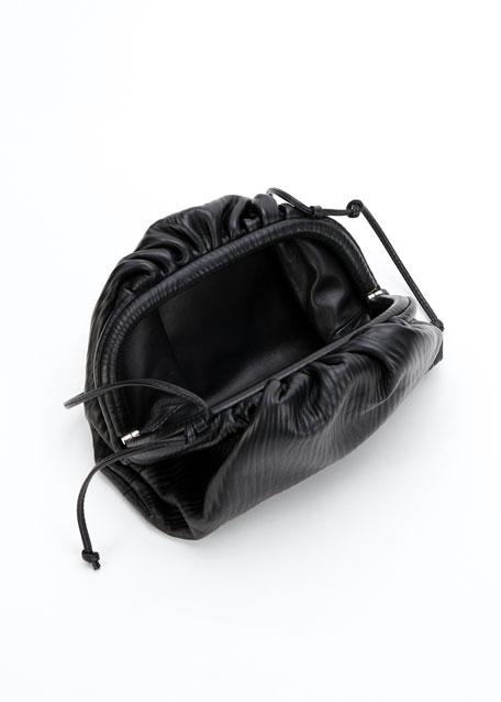 Mini Leather Bark Pouch Bag