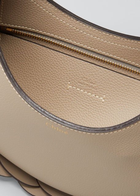 Darryl Small Leather Hobo Bag