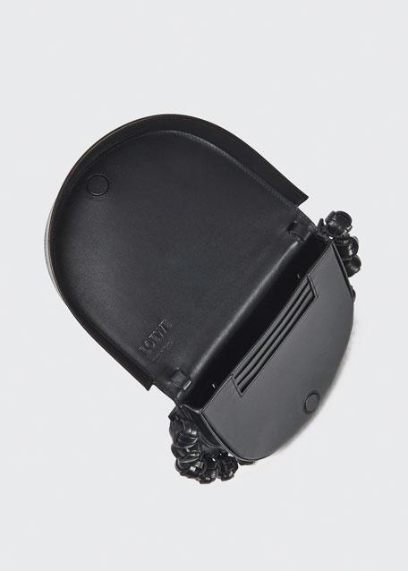 Heel Knotted Horseshoe Crossbody Bag