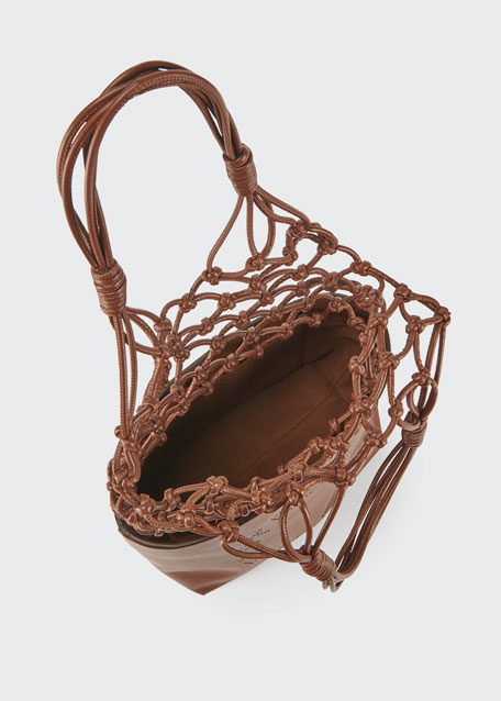 Alter Nappa Knotted Bucket Tote Bag