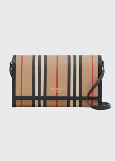 Hannah Icon Striped Wallet/Crossbody Bag