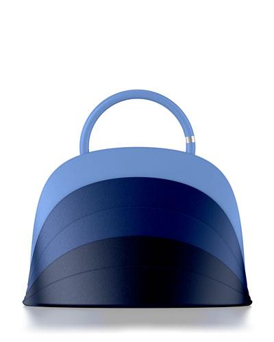 Millefoglie J Ombre Leather Top Handle Bag