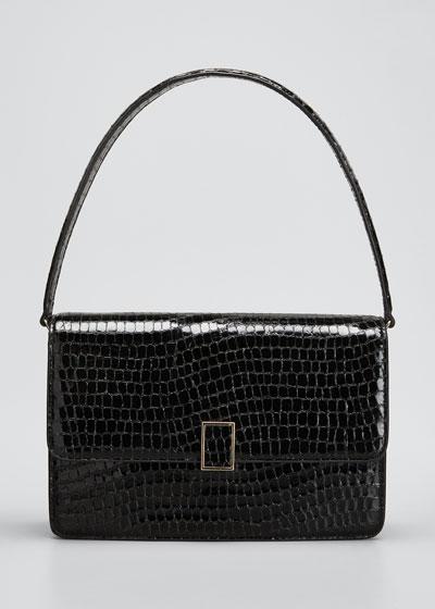 Katalina Moc-Croc Shoulder Bag