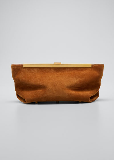 Aimee Envelope Pleat Clutch Bag