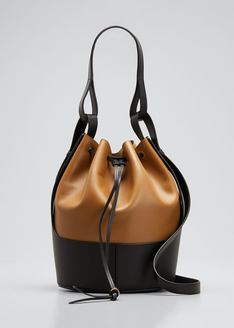 Image 1 of 1: Balloon Bicolor Bucket Bag