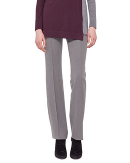 Techno-Wool Straight-Leg Pants