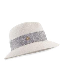 Ingrid Cashmere Felt Hat