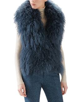 Mongolian Lamb Fur Vest