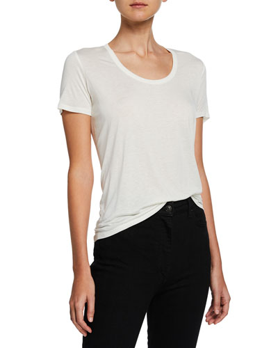 Scoop-Neck Classic Tee