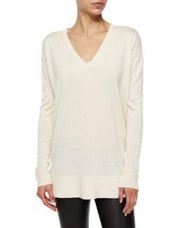 Amherst Knit V-Neck Sweater