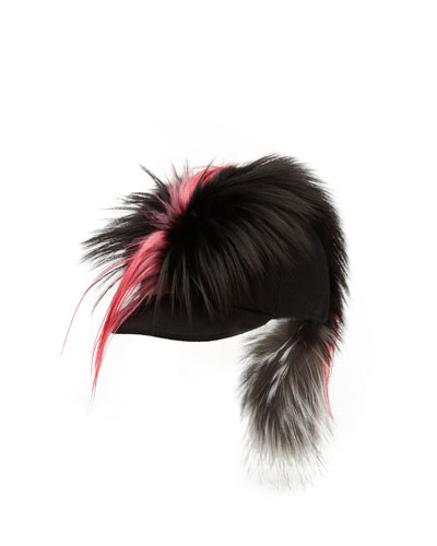 Karlito Fur Baseball Hat