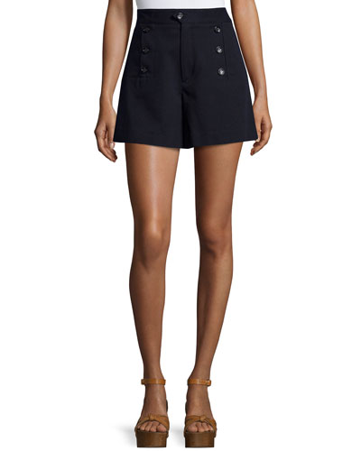 Maud Three-Button Suit Shorts