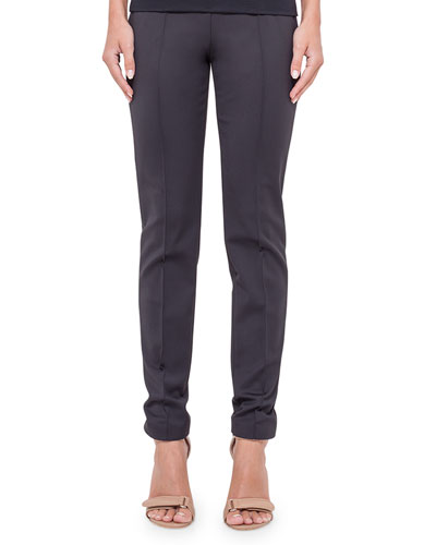 Melissa Skinny Techno Pants, Navy