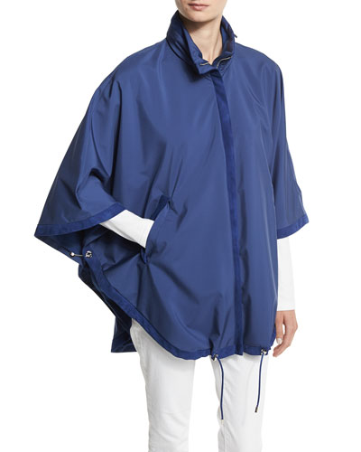 Reversible Vail Windstorm Cape, Bluette/Navy